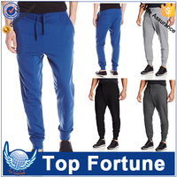 custom men's e hot sale cotton jogger sweatpants
