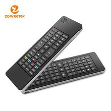 Speak and microphone combo mini wireless keyboard for sharp smart tv