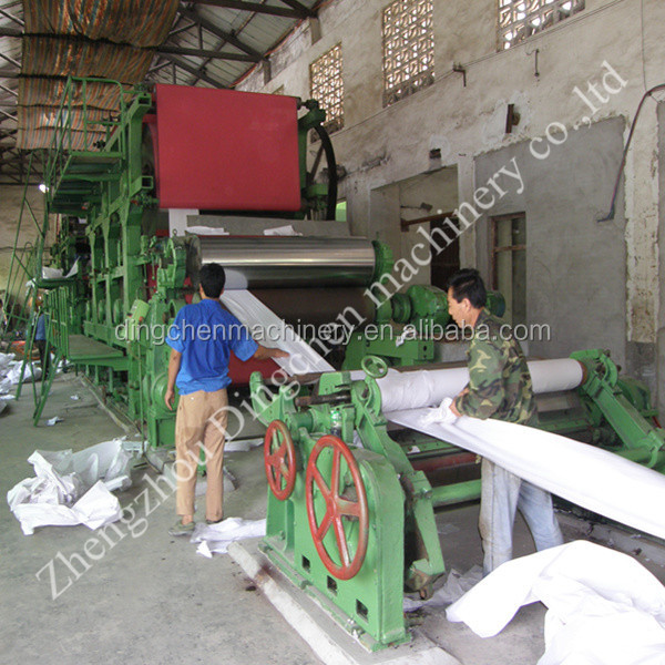 waste paper recycle machine/recycling paper machines price/machine for paper
