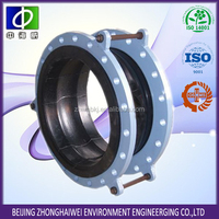 galvanized union type rubber expansion joints