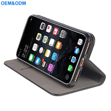 Durable Protective Premium PU Leather Folio Flip Cover Case For iPhone X