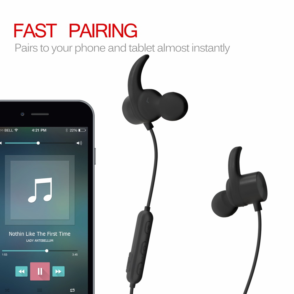 In ear Noise Cancelling Sports Wireless Bluetooth Gamer Headsets For Mobile Computer R1615