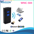 Winosn 1D CCD portable bluetooth barcode scanner with usb