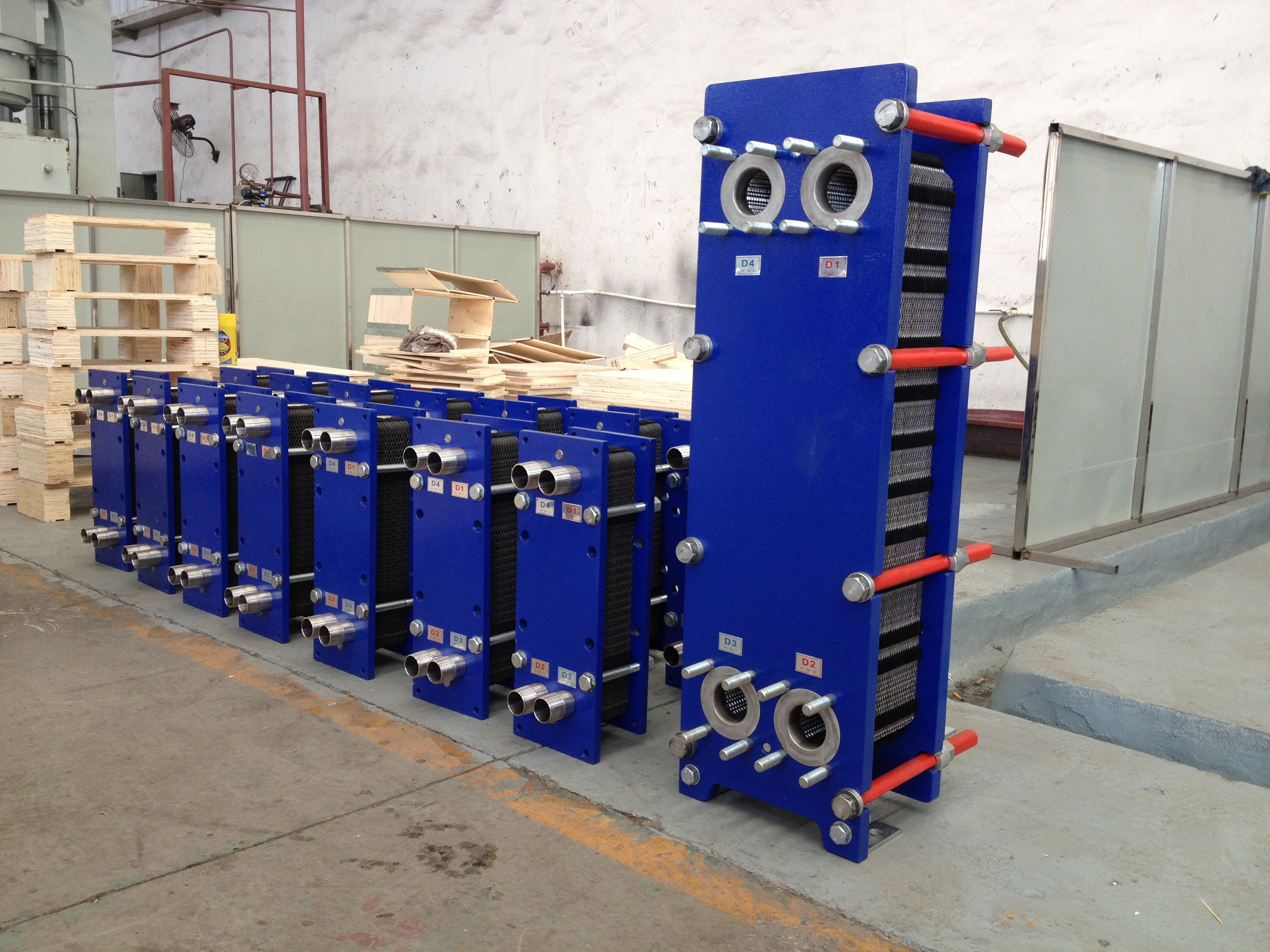High effective professional cooling water heat exchanger with competitive price