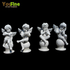 Life-Size White Marble Little Angel Statues Wholesale