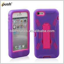 2 in 1 hybrid case for iphone 5,pc silicone hard case for iphone 5