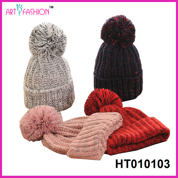 New hot sales style venonat winter beanie hat