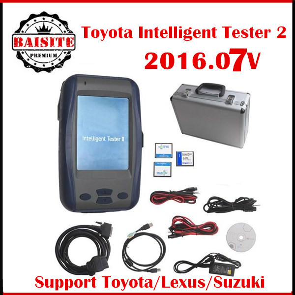 TOYOTA DENSO Intelligent Toyota Tester 2,tester2,IT2 With suzuki Three cards Car Diagnostic Tool for Toyota,Lexus,suzuki OBD2