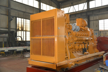 Diesel engine set for triplex mud pump