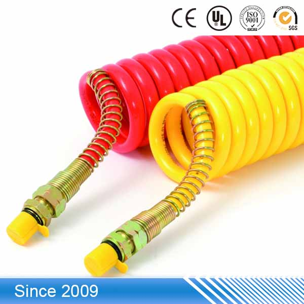 Top Quality flexible Polyurethane spring spiral Pu flexible air conditioning hose
