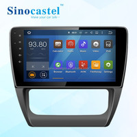 "Car 2 Din DVD player with GPS navigation & Touch panel for 10.1"" VW Sagitar 2014"