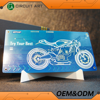 Bulk Blue Motorcycle Subject Handicraft Birthday Friendship Circuit Greeting Cards All Occasions