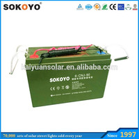 12V 80ah Deep Cycle Solar Gel Battery with 15 years Life