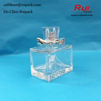 50ml high quality glass perfume bottles atomizer /clear color perfumes and fragrances bottle / pump spray glass perfume bottles