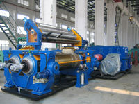 Promotion waste tire mixing mill machine