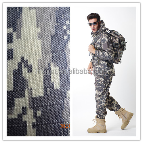 military uniforms digital camouflage fabric, waterproof &flame resistant fabric