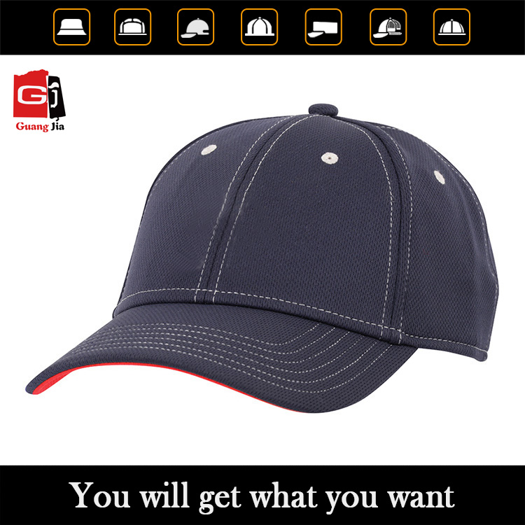 Professional baseball cap factory OEM High Quality Blank 6 Panels Baseball Cap