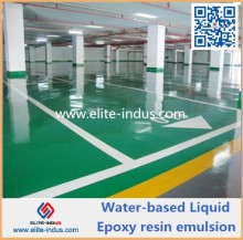 Liquid Resin water based epoxy floor coating