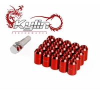 kylin racing car 33mm Lug Nuts 12X1.5 and 12X1.25 made in China
