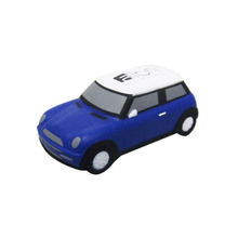 Mini car shape PU stress ball toy