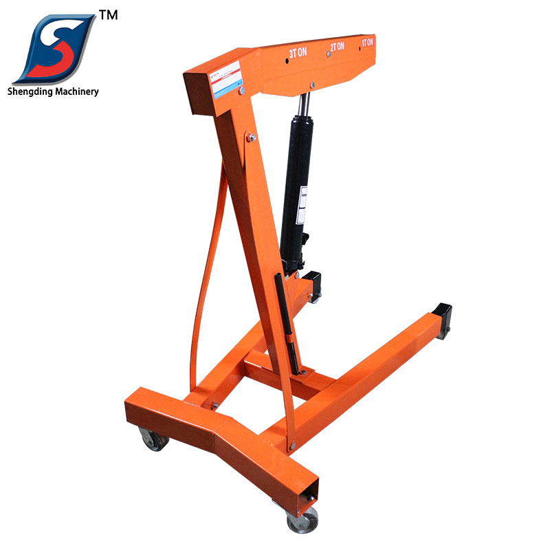 Professional car hydraulic small Lift 3 ton engine crane