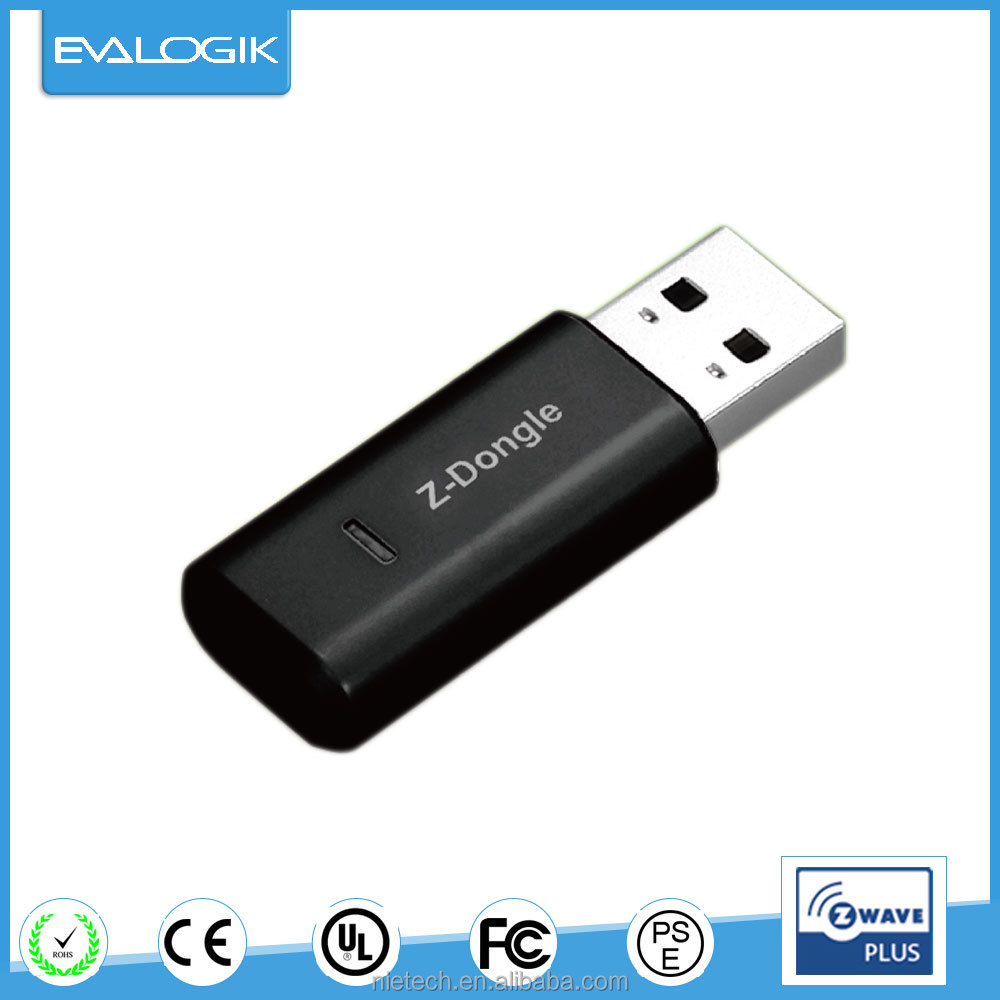 Wireless home automation USB dongle (ZW49)