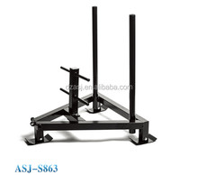 Lowest price and good quality gym fitness equipment ASJ-S863 Elite Push/Pull Sled/Prowler