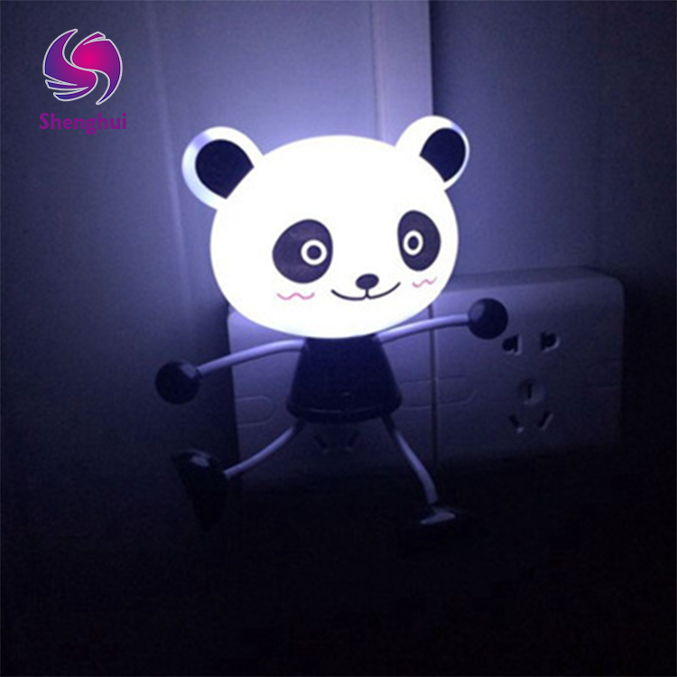 Animal Panda LED Decoration 3d Kids Motion Sensor Led Night Light