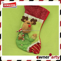 2016 New Product Outdoor Christmas Socks Angel Gift