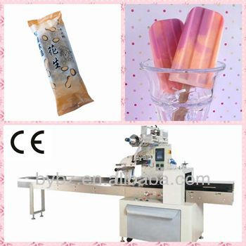 YB-100 CE Automatic Ice Cream Flow Wrapping Machine