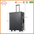 Bluetooth Aluminum Makeup Trolley Case