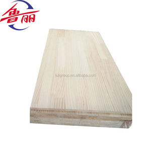 Luli radiata pine rubber wood finger joint laminated board