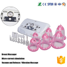 CE approval electric hot open breast sucking vibrating women breast nipple massage therapy machine