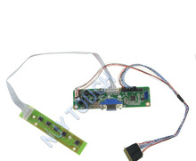 NJYTouch V.M70A VGA LCD LVDS Controller Board Kit For ASUS EeePC 900 901 904 B089AW01 LP089WS1-TLA1 1024x600 LED Screen