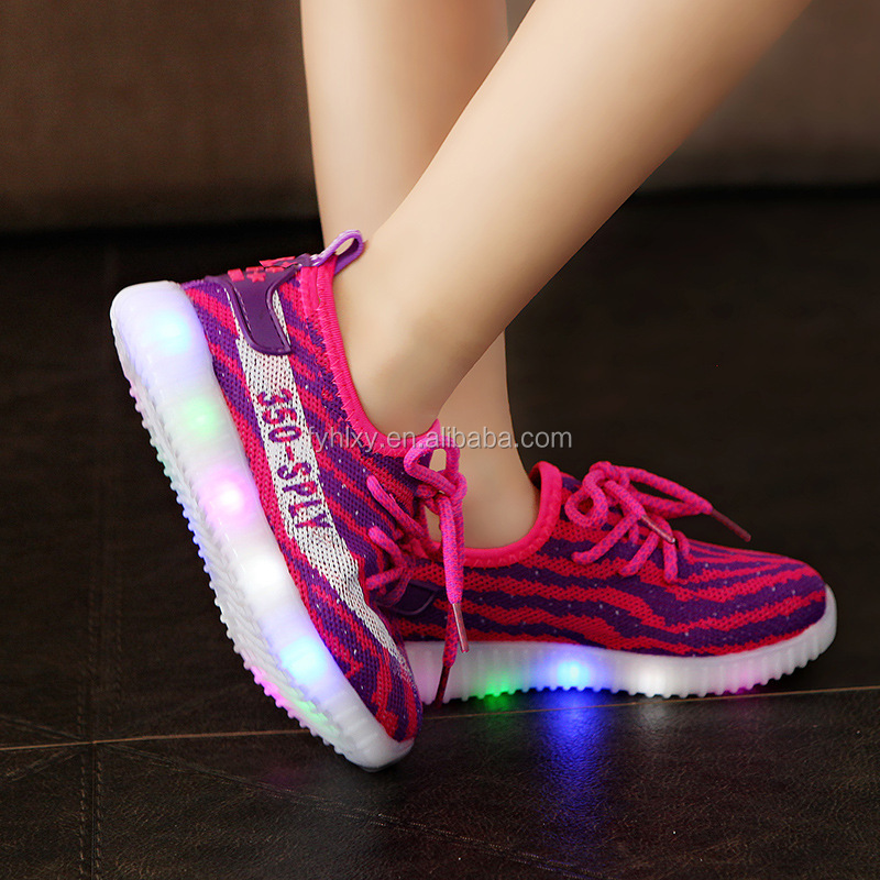 New deisgn 2017 kids led shoesLED Shoes whoelsaleFestival led light running shoes