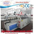 plastic Conical Twin Screw Extruder machinery