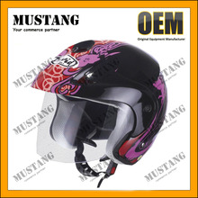 DOT Approved Comfortable Half Face Cheap Motorbike Helmet
