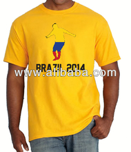 Brasil Brazil World Cup 2014 Colombia supporter jersey shirt all nations all sizes
