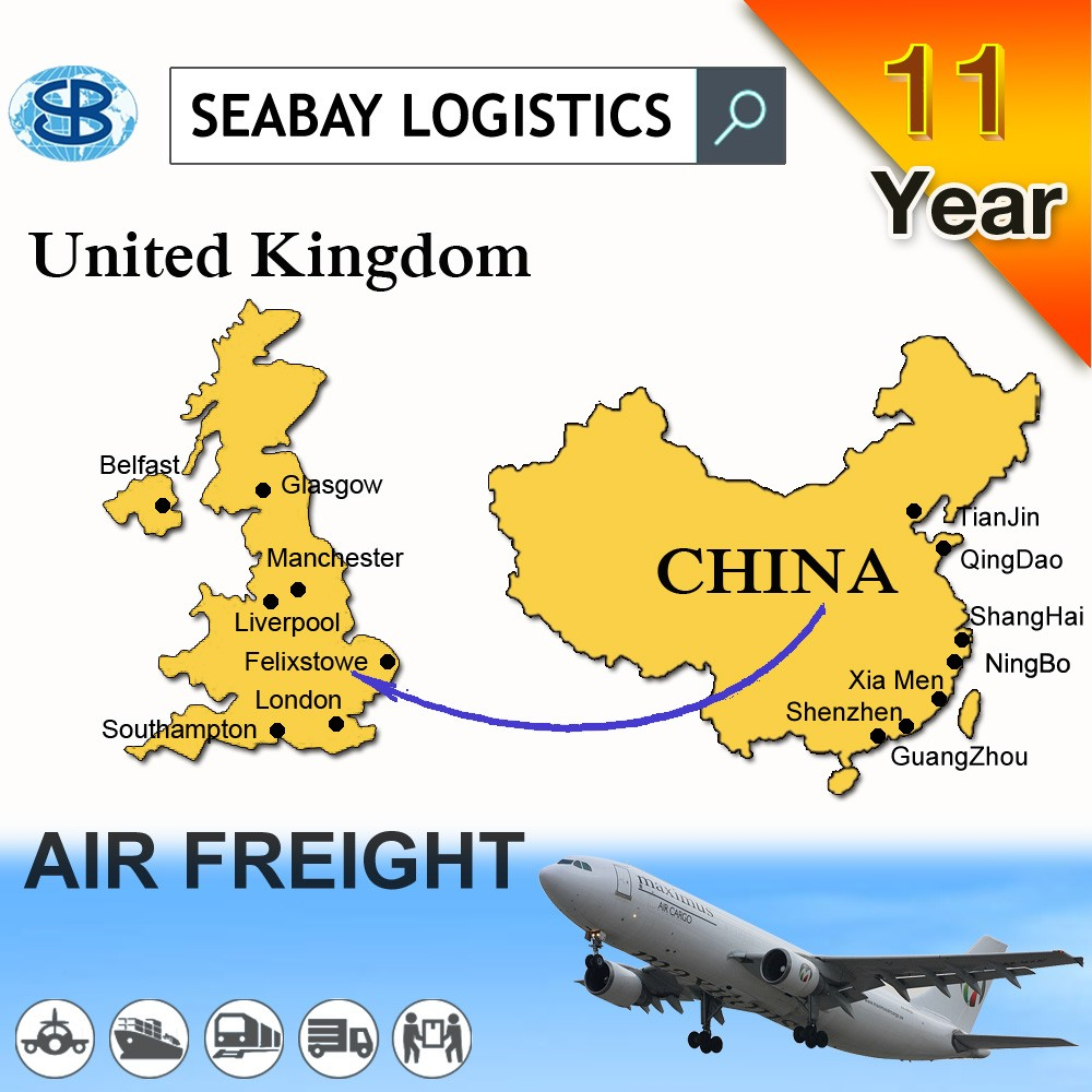 air freight cargo shipping from Shenzhen to Gatwick UK