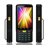 High Quality Factory Android mobile terminal barcode scanner With Wifi NFC UHF Rfid Reader 3G Standard Rugged PDA