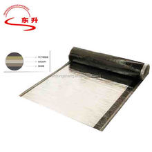 self-adhesive low sloped roofing with aluminum foil surface