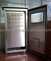 Automatic cooling system control cabinet
