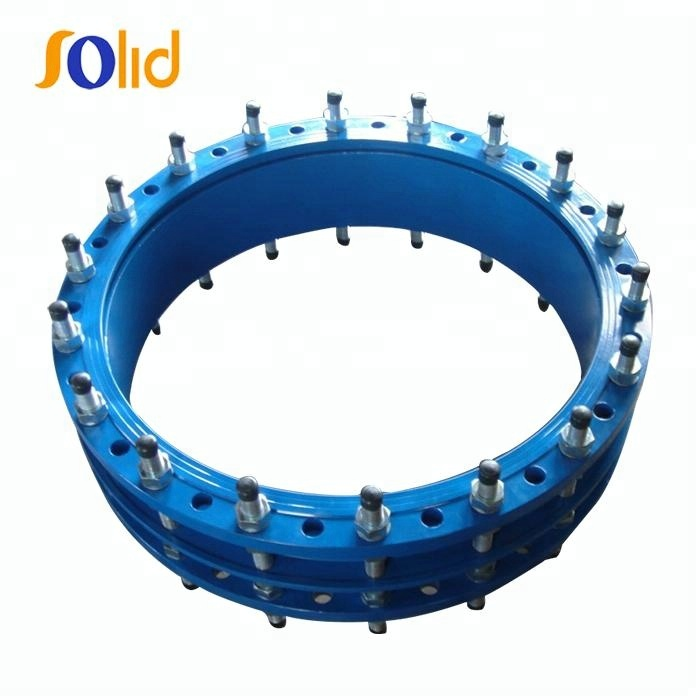 Double Flange Carbon steel Pipe Mechanical Coupling Dismantling Joint For Pipe