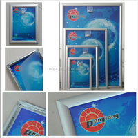 A1 A2 A3 A4 front loading Aluminum snap frame poster frame