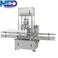 Small scale Production Automatic Piston Liquid Filling Machine for Various Kinds of Bottles/ 2 Heads Filler