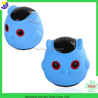 With best price silicone waterproof Owl bluetooth speaker cover