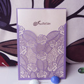 2014 Unique Luxury Laser Cut Invitations Wholesale
