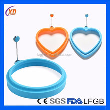 Best Selling Food Grade Silicone Fried Egg Mould/Egg Ring/Egg Form