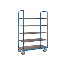 Big wheel 5 floor display platform tool cart