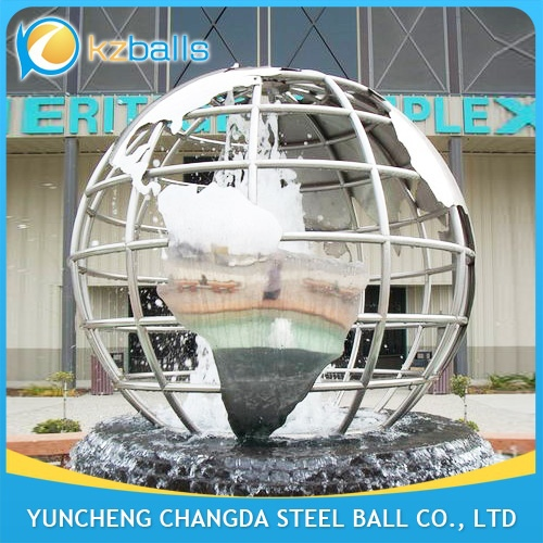 3M 316L Stainless Steel Globe Sculpture